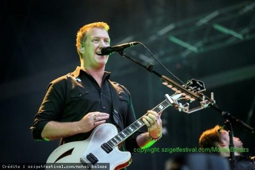 Baby in vain - P-SKA - Queens of Stone Age - Deadmau5 (Sziget Festival 2014) en concert