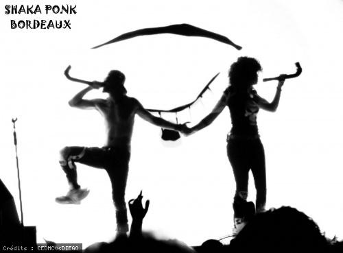 Shaka Ponk (feat. Bertrand Cantat) en concert