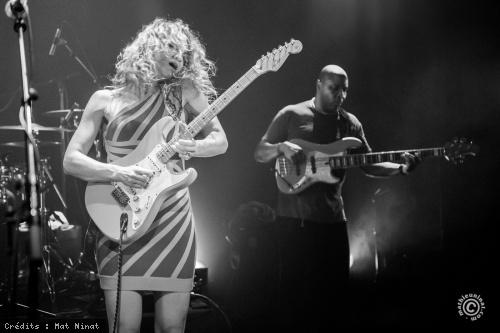 Ana Popovic + Nungan en concert
