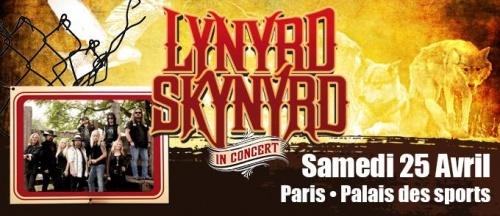 Lynyrd Skynyrd + Jared James Nichols en concert