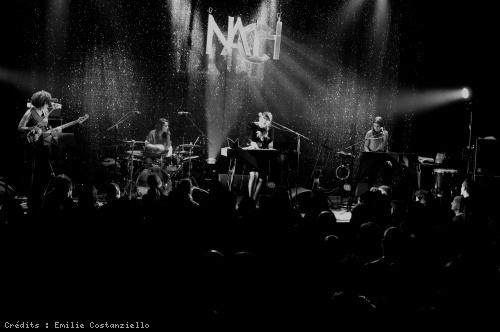 Nach (Anna Chedid) en concert