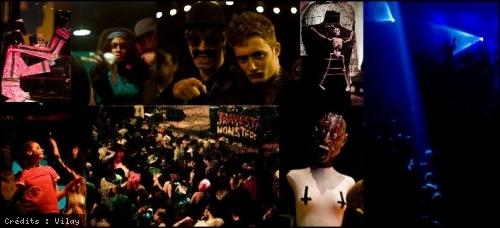 Travesti Monster Party en concert