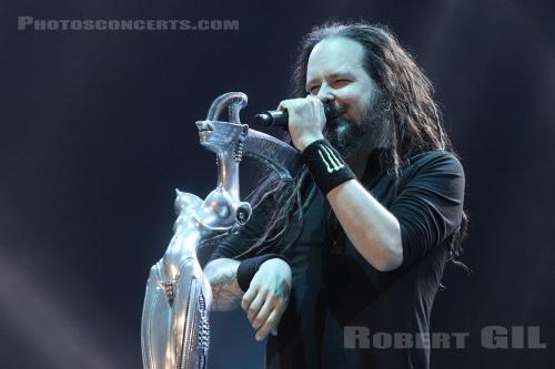 Korn (Download Festival France 2016) en concert