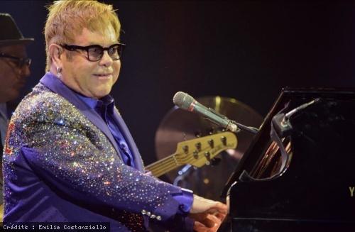 Elton John (Festival Musilac 2016) en concert