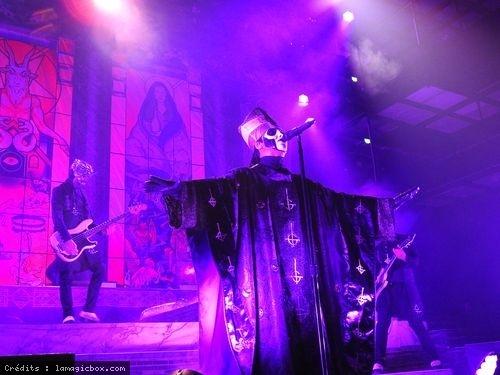 Ghost + Zombi en concert