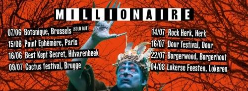 Millionaire (+ Kim) en concert