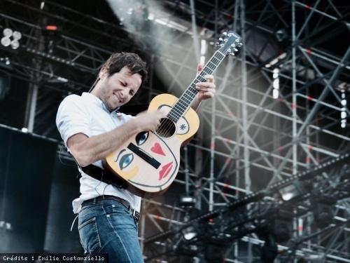 Interview de Vianney dans le cadre du festival Musilac 2017 en concert