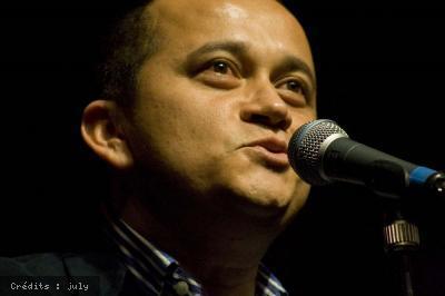 Andrea Lindsay + Yuri Buenaventura + Faudel  (Festival Chorus 2009) en concert
