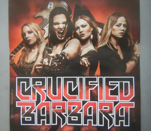 Crucified Barbara en concert
