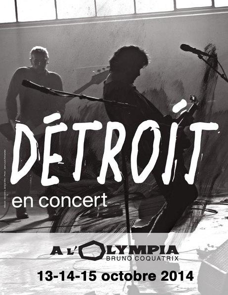 Détroit (Bertrand Cantat, Pascal Humbert) en concert