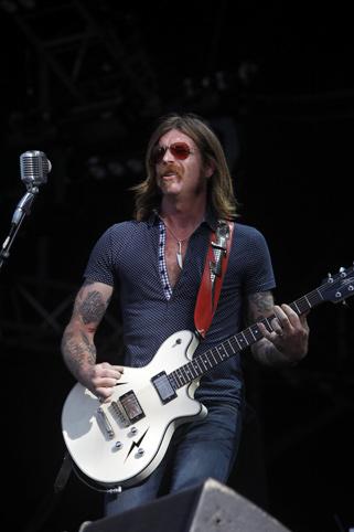 Eagles Of  Death Metal (Rock en Seine 2009) en concert
