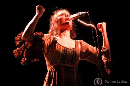 Emily Loizeau + Coming Soon + Andrew Bird (Printemps de Bourges 2009) en concert