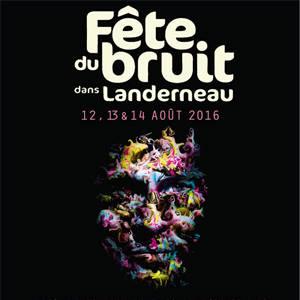 Iggy Pop (Festival Fête du Bruit dans Landerneau 2016) en concert