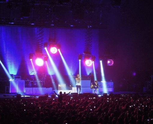 Incubus + FiN en concert