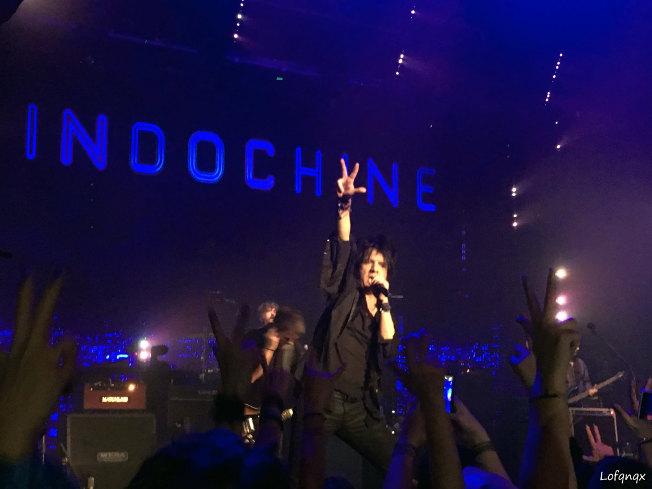 Indochine  en concert