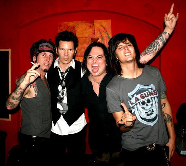 L.A. Guns + Pretty Boy Floyd +  Venrez + Sleekstain en concert