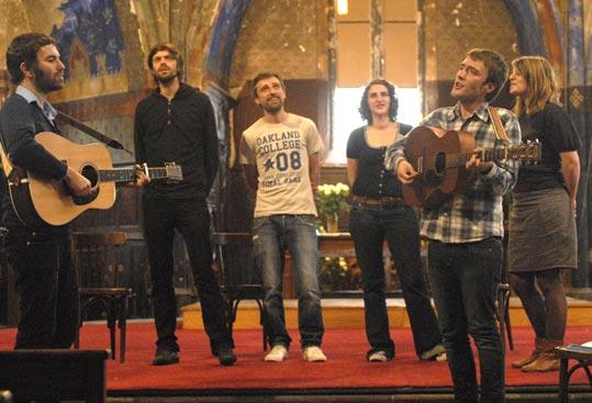 Leopold Skin, St Augustine, Zak Laughed (Fête de la Musique 2009) en concert
