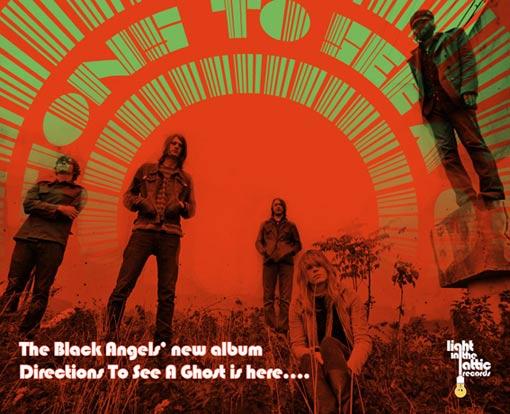 The Black Angels (Transmusicales de Rennes 2008) en concert