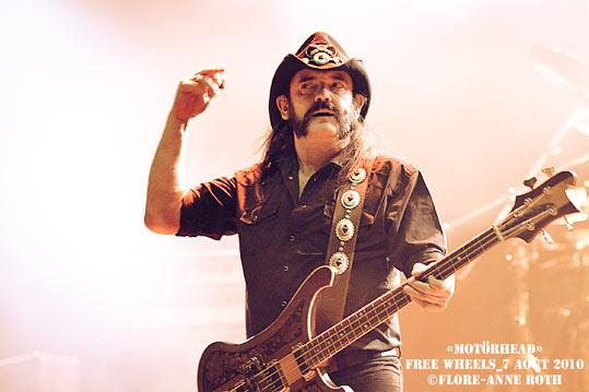 Motörhead + Lords Of Altamont + Koritni (Free Wheels 2010) en concert