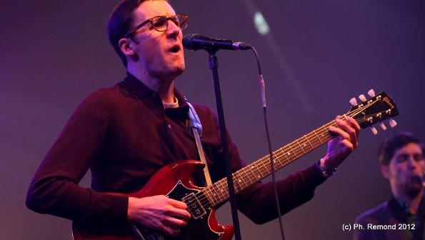 Nick Waterhouse (Trans Musicales de Rennes 2012) en concert