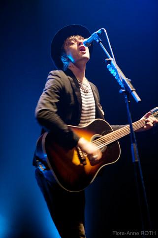 Peter Doherty (Festival Europavox 2010) en concert