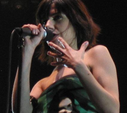 PJ Harvey (Eurockéennes de Belfort 2004) en concert