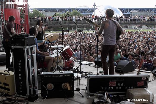 Thee Oh Sees + Oneida + Fuck Buttons + These Are Powers + Secret Chiefs 3 + King Midas Sound (Festival Villette Sonique 2010) en concert