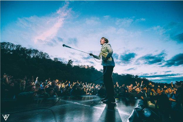 The Hives (Rock en Seine 2014) en concert