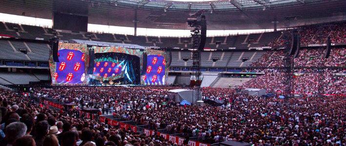 The Rolling Stones + The Struts en concert