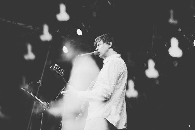 Thurston Moore (Festival Rock en Seine 2014) en concert