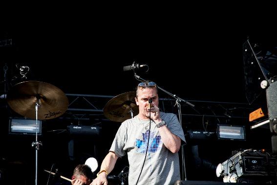 Tomahawk (Festival Rock en Seine 2013) en concert