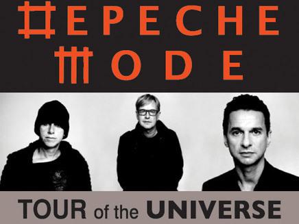 Depeche Mode + Nitzer Ebb en concert
