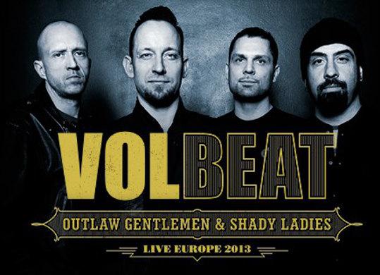 Volbeat + Iced Earth en concert