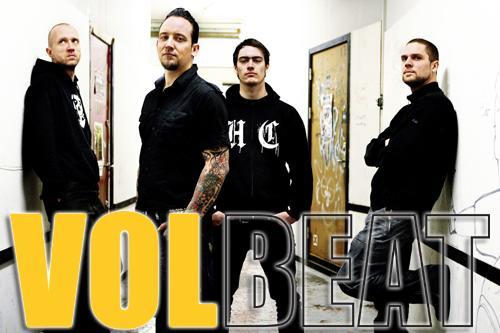 Volbeat + Ektomorf en concert