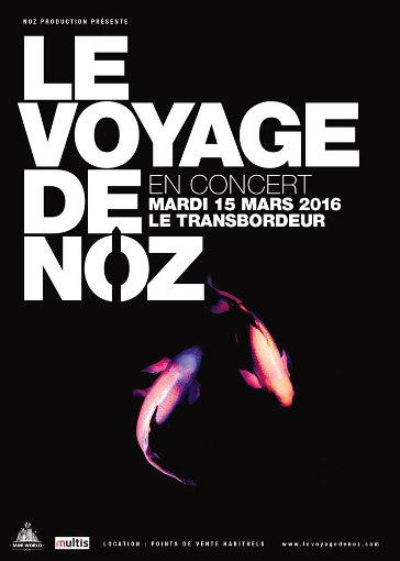 Le Voyage de Noz en concert