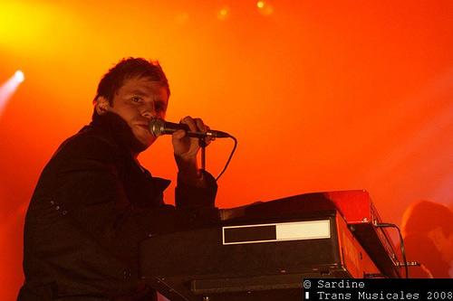 White Rabbits (Transmusicales de Rennes 2008) en concert