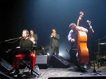 Di Maggio + Arthur H + Pagaille (Festival avec le Temps 2001) en concert