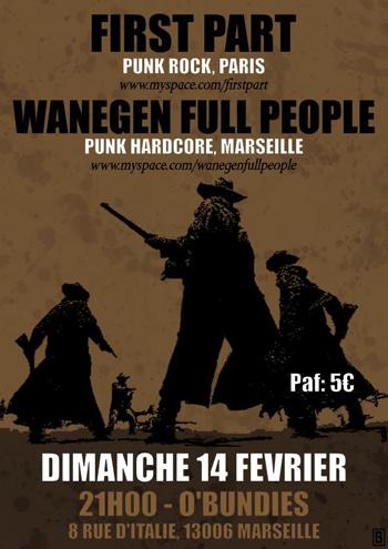 Wake The Dead + Wanegen Full People en concert