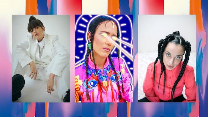 Siska + La Chica + Noga Erez (Au Large Festival) en concert