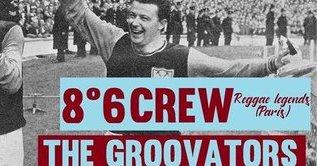 the Groovators + 8°6 Crew en concert