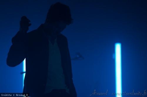 Aaron + Rover en concert