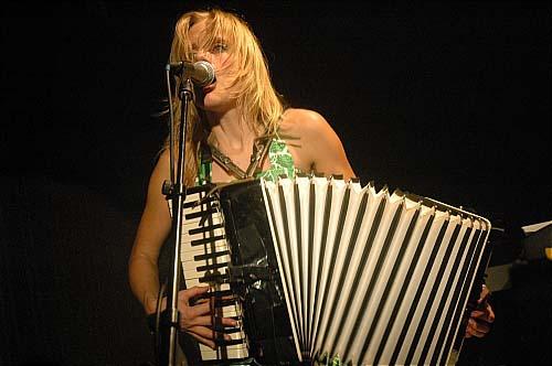 An Pierlé and the White Velvet en concert