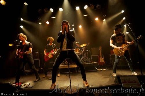 Miss Parker + The Same Old Band + Backstage Rodéo (Tournée Esprit Musique 2013) en concert