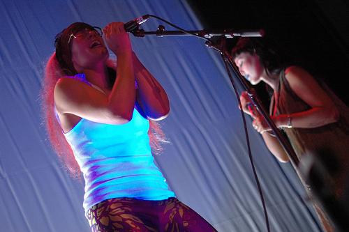 Nevchehirlian + CocoRosie (festival Gravitations #0) en concert