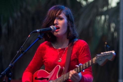 Black Lips, Veronica Falls (Plage de rock 2012) en concert