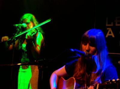 Emily Jane White + Justine & Ben en concert