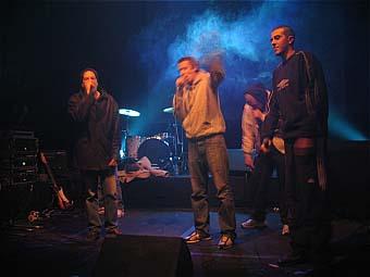 HHP (Hip Hop Parallèle) en concert