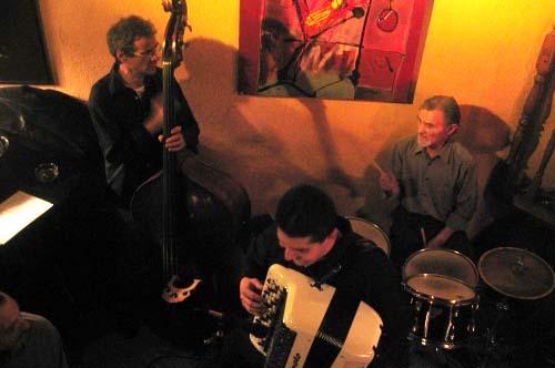 Hubert Rousselet quartet en concert