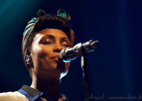 Imany + Célien Schneider en concert