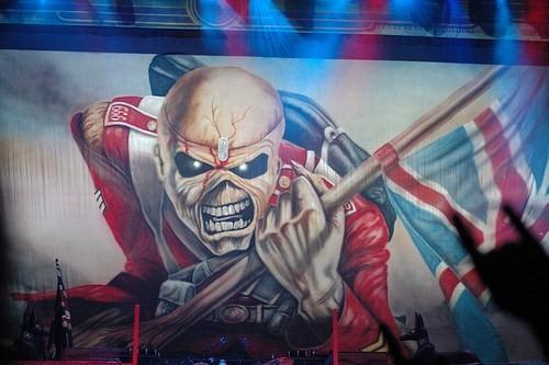 Lauren Harris + Iron Maiden - Sziget Festival (jour 0) en concert